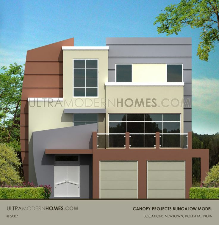 Contemporary Bungalow Model design for township project