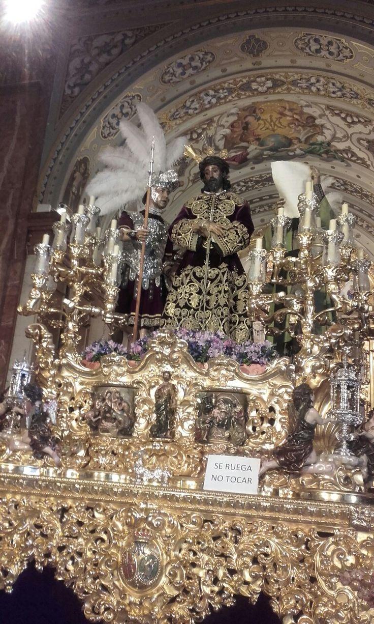 Señor de la Sentencia hermandad  de la Macarena Sevilla