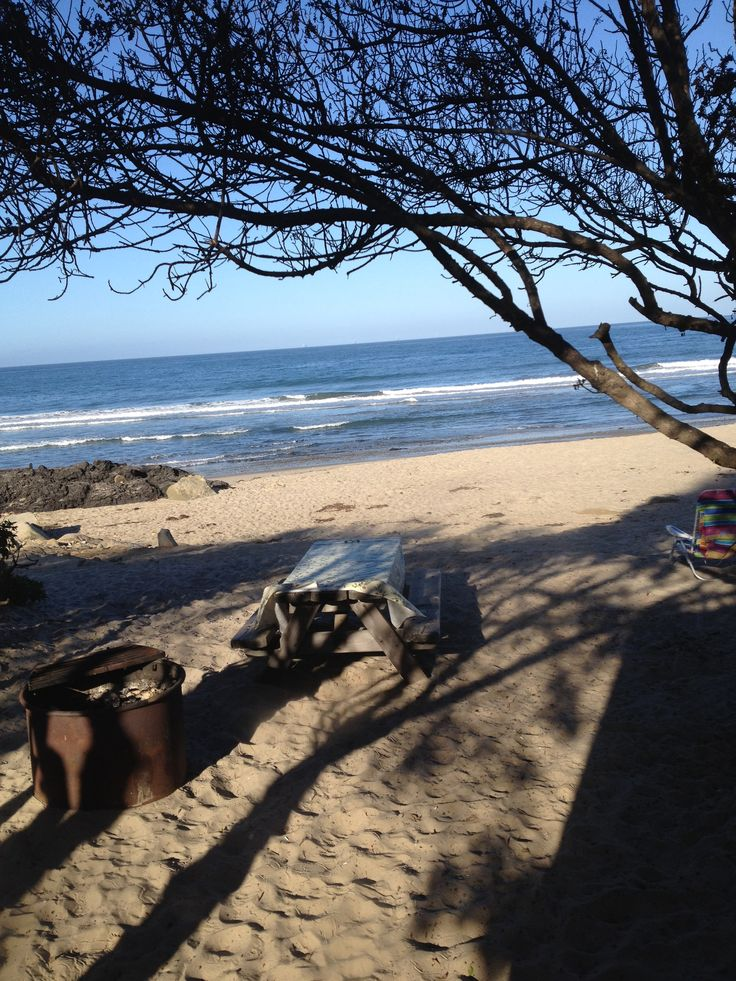 Carpinteria Beach-- pretty sure this was our camp site... Good times!