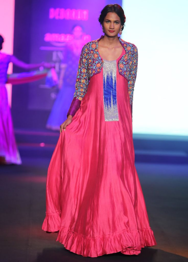 Designer #Debarun Designed #Ladies #Gown with Jacket