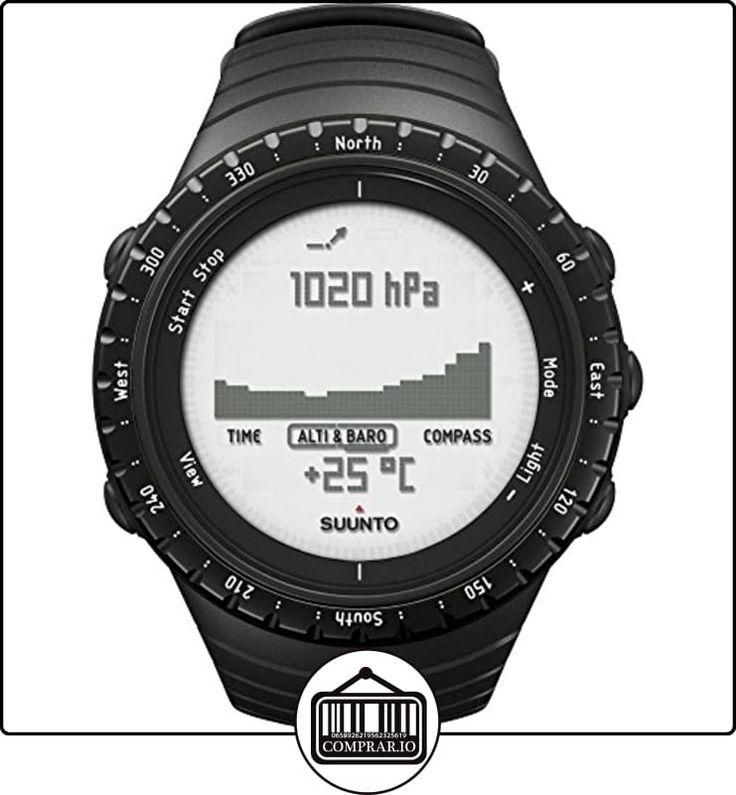 Suunto Core Regular Black - Reloj deportivo (Dot-matrix, 49.1 x 49.1 x 14.5 mm, 64 g, Negro, Incorporado, -20 - 60 °C) de  ✿ Relojes para hombre - (Gama media/alta) ✿