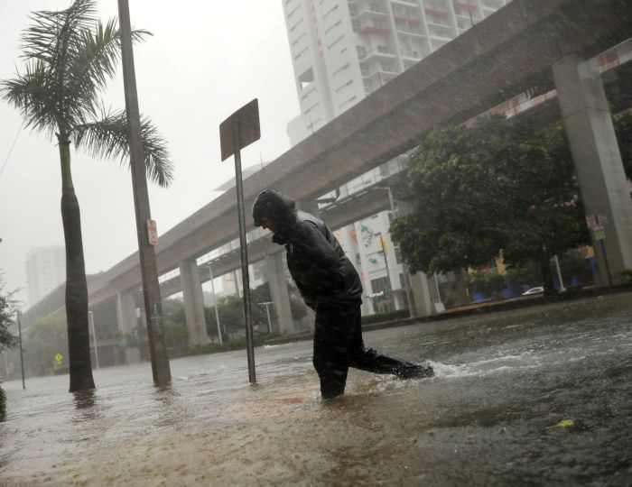 Indian-People pool sources to assist Irma-hit FloridiansIndian-Americans in Atlanta and Georgia pooled in their resources to help several million people from Florida who were affected by hurricane Irma that plummeted parts of the US coastal State with wind speed of more than 193 km per hour.  IMAGE: A local resident walks across a flooded street in downtown Miami as Hurricane Irma pummels the state. Photograph: Carlos Barria/Reuters Hurricane Irma made landfall on Florida's southern islands…
