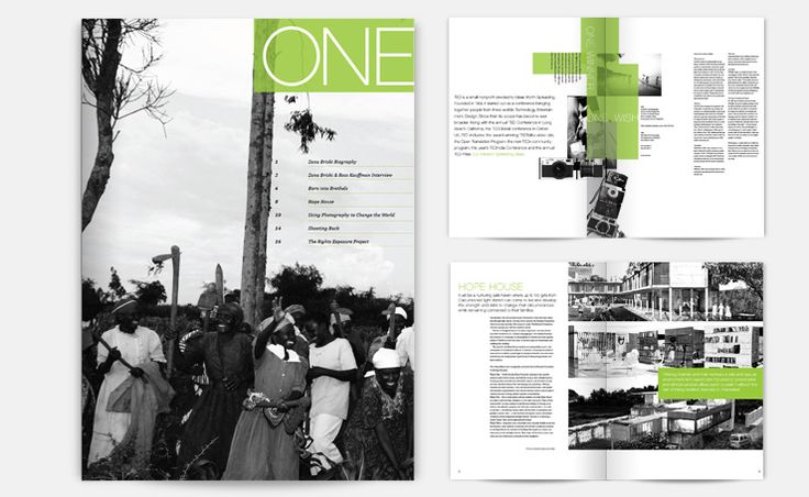Allison Bhang » A publication designed for the TED prize winner, Zana Briski. Showcased is Briski's work and others who use the medium of photography as a tool to combat poverty and injustice in the lives of children. http://www.uwdesign2010.com/#vcd/projects/publicationdesign/abhang_onezanabriski
