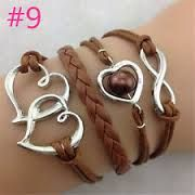 suede leather bracelets