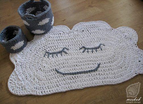 Crochet cloud rug -  meskok.design http://meskok.hu/termekek/horgolt/felho-szonyeg/
