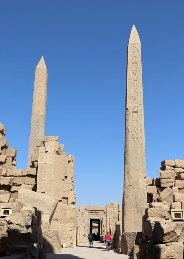 The Egyptian Temples of Karnak and Luxor