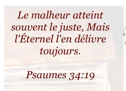 Psaumes 34.19