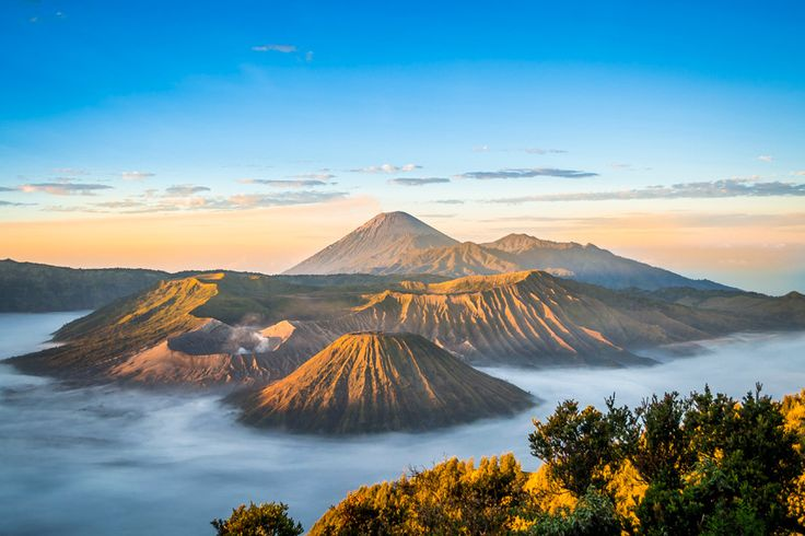 Mount Bromo is perhaps Indonesia's most well known active volcano