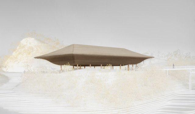 名和晃平によるアートパビリオン「洸庭」が広島に誕生、「神勝寺 禅と庭のミュージアム」9月にオープン