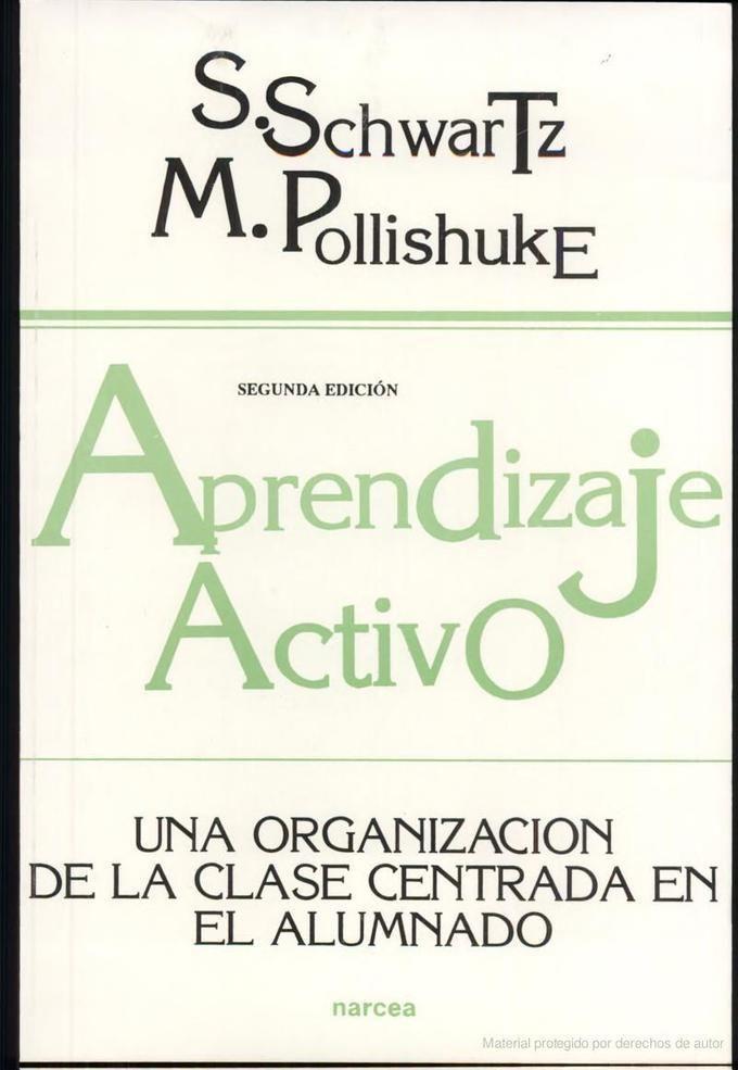 Aprendizaje activo: una organización de la clase centrada en el alumno