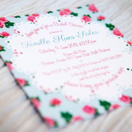 isla bird  - Stepford Roses, Cath Kidston inspired, Bridal Shower Invitation,  (http://www.islabird.com/stepford-roses-bridal-shower-invitation/)