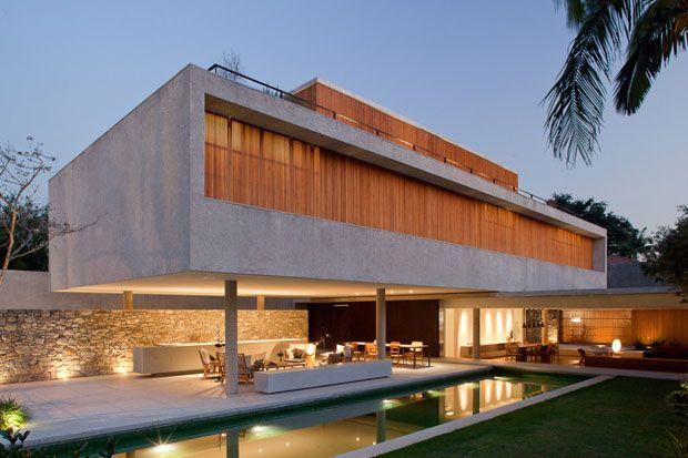 House 6 by  Marcio Kogan.