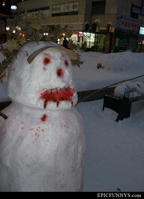 zombie snowmen: Heart Zombies, Zombie Snowmen, Zombies Snowmen