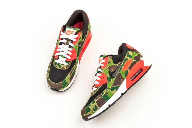 atmos' duck camo design breathed a new life into this Air Max 90 from 2013.