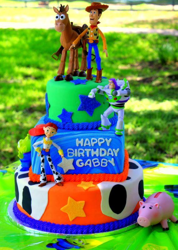 Toy Story Cake: Toy Story Cakes, Birthday Anniversary Cakes, Toys, 3Rd Birthday, Kids, Birthday Ideas, Birthday Party, Birthday Cakes
