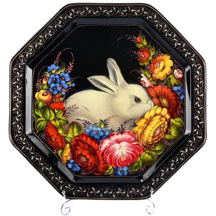 появился картинки кроликов на шкатулках орнамент