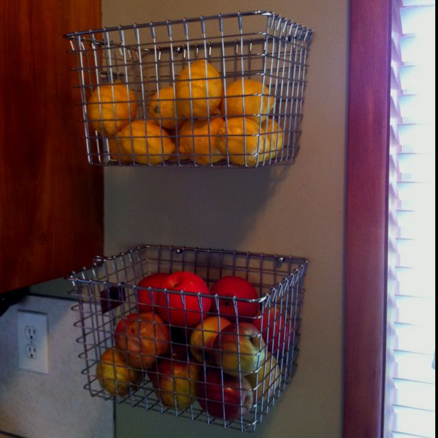 Diy Hanging Fruit Basket Ideas And Pictures