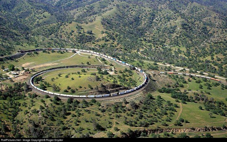 The Tehachapi Loop, CA.