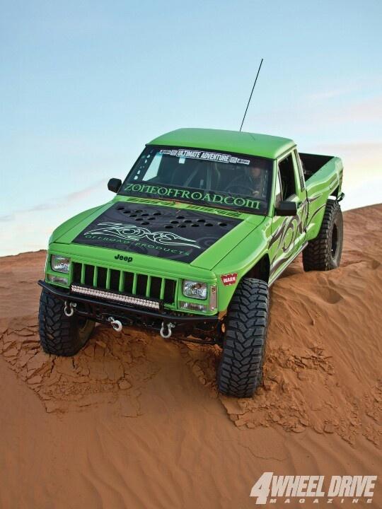 Sweetest comanche i have ever seen - jj.  Zone Off-road custom built jeep Comanche