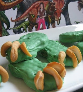 Dinosaur Claws for the dino party