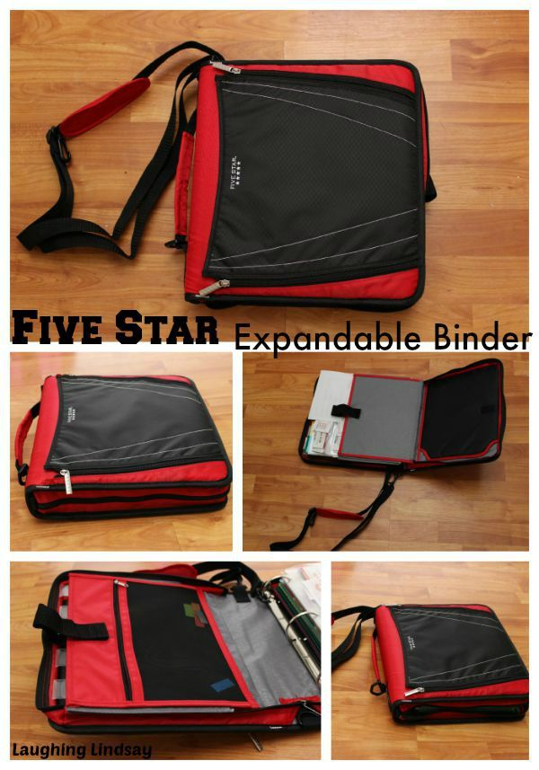 Classroom Ideas For Middle School ~ Five star expandable binder and backpack fivestarbts