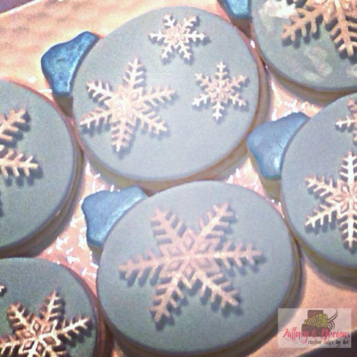 Snow flake sugar cookies