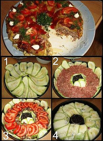 Любимое блюдо из кабачков.