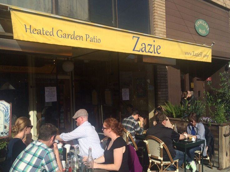 Zazie Goes Tip Free Today: No Major Complaints (Yet) - Eater SF