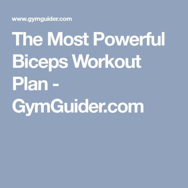 Best 25+ Biceps workout ideas on Pinterest | Biceps, Bicep workouts for men and Chest workout ...
