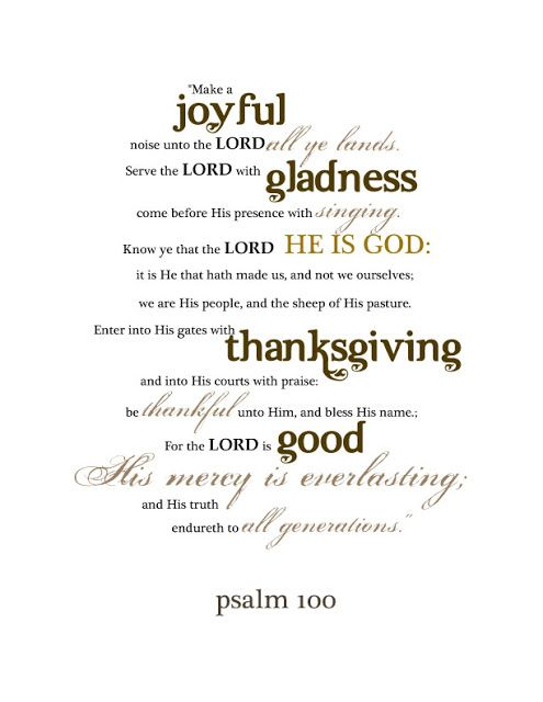 The Thankful Tree, Psalm 100 Download and Briar Hats  by Dear Lillie