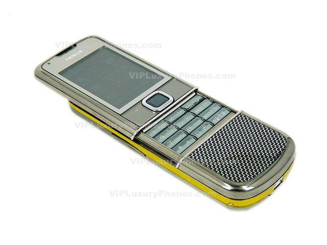 NOKIA 8800 Sapphire Carbon Mobile phone