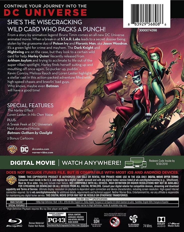 "Next DC Animated Film Will Seemingly Be Gotham By Gaslight  Following Batman and Harley Quinn the next DC animated film appears to be a retelling of Gotham by Gaslight the story that sees Batman transplanted into the 18th Century.  An image on Redditappears to show the back cover of the Batman and Harley Quinn Blu-ray which lists ""A Sneak Peak at DC Universe's Next Animated Movie: Batman: Gotham by Gaslight"" as a special feature:  Gotham by Gaslight was originally a much-loved DC Elseworlds…"