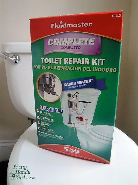 Toilet Repairs - Part 1Diy Handyman, Toilets Repair, Fluidmaster Repair Kits, Pretty Handy, Fluidmast Repair Kits, Repair Projects, Lever, Diy Toilets, Handy Girls