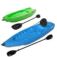 Lifetime 8' Adult / 6' Youth Kayak Combo Pack - Sam's Club.