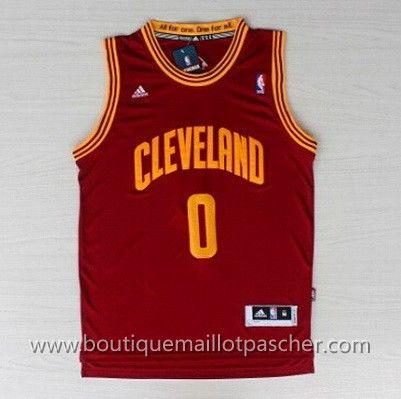 maillot nba pas cher Cleveland Cavaliers Love #0 Rouge nouveaux tissu €22.90