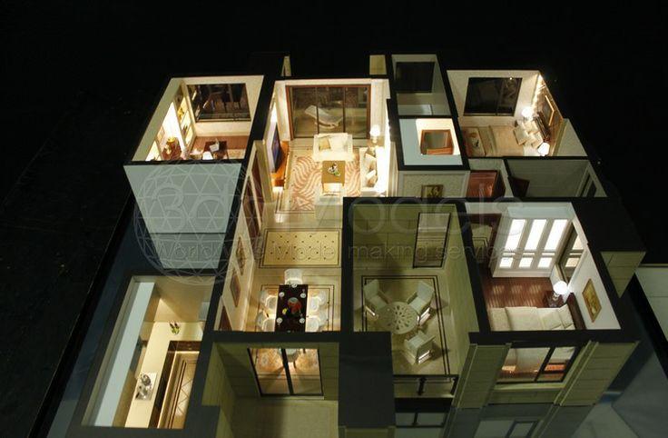 Pin By 3dr Models On Interior Design Models Concept Architecture Architecture Model Design House design model making