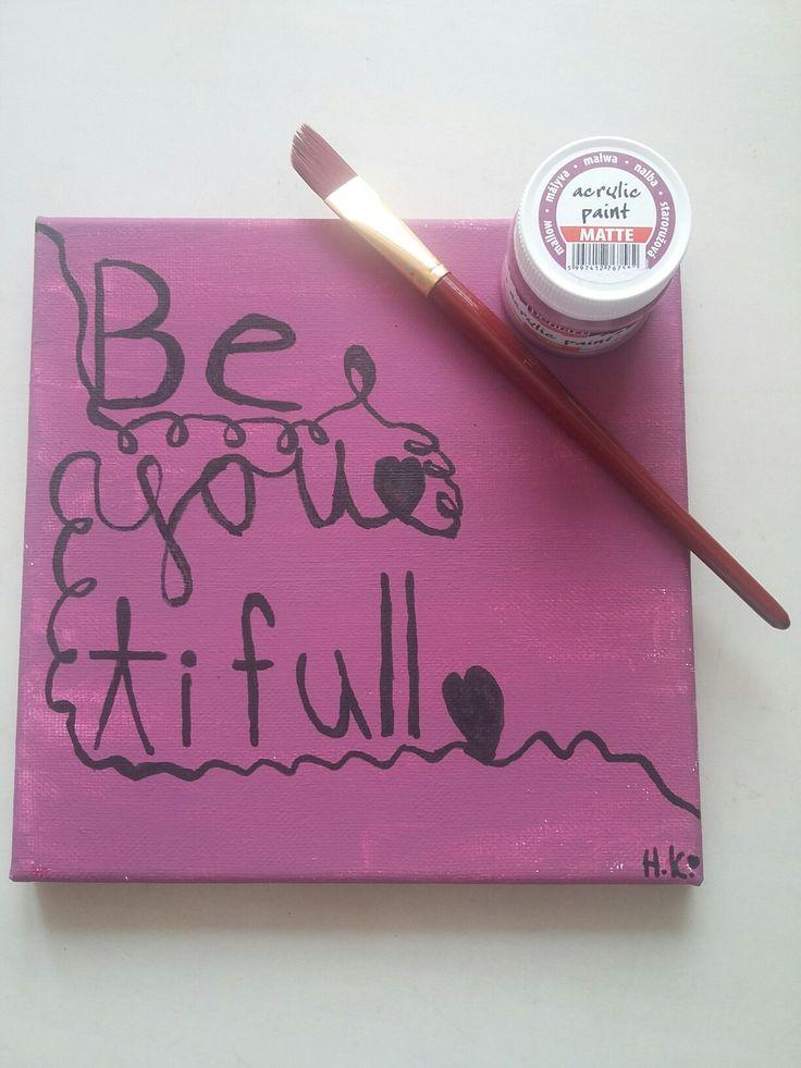 You are beYOUtiful ♥