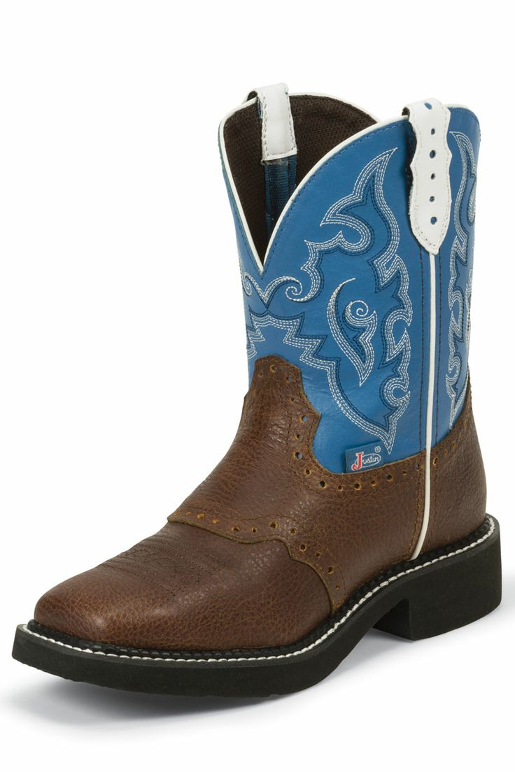 Only $67.95! Justin Gypsy Women's Brown Buffalo Cowgirl Boots