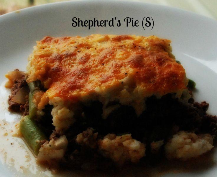 Shepherd's Pie!  (S)  Low Carb, Trim Healthy Mama!
