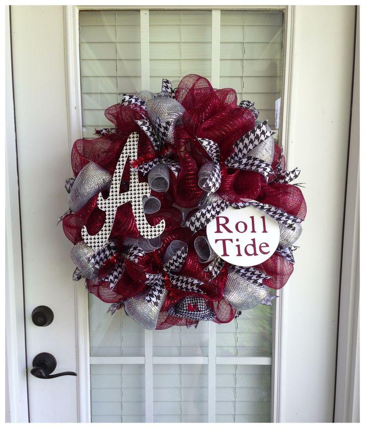 Alabama Deco Mesh Wreath