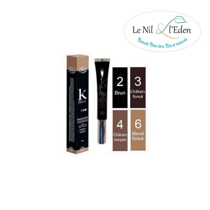 K POUR KARITE - Mascara cheveux - Chatain Moyen n°4 - 15 g in Beauté, bien-être, parfums, Cheveux: soins, coiffure, Colorations | eBay