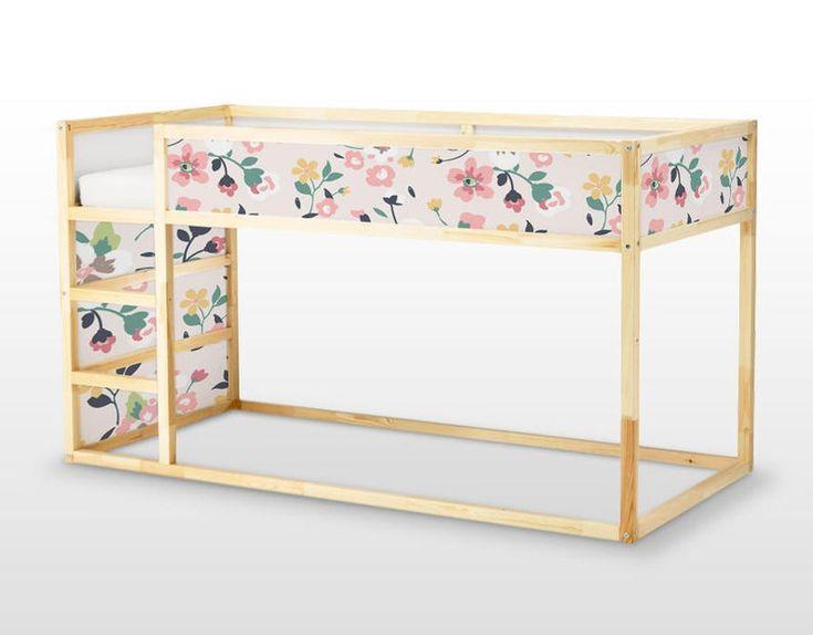 Best Ikea Kura Bed Removable Stickers Flowers Ikea Nursery 640 x 480