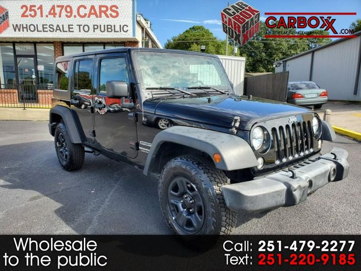 Used 2015 Jeep Wrangler Unlimited Sport 4WD for Sale in