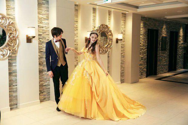Belle Wedding Dress - Princess - Vestido Casamento - Disney - Once Upon a Time - Bela e o Monstro - Bela e a Fera - Beauty and the Beast - Fairy Tales - Photos by Disney Japan/Kuraudia Co