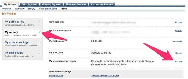 how to cancel pre authorized payments rbc