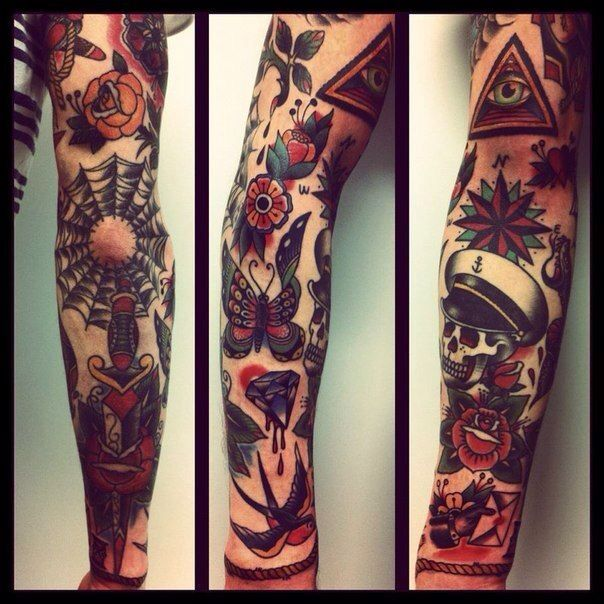 277 best images about tattoos on pinterest idaho ink for Tattoo sleeve filler