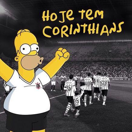 Sport Club Corinthians Paulista - Ônibus e camisa do Corinthians ganham referências da série Os Simpsons