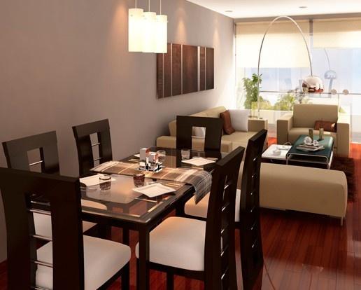 79 mejores im genes sobre salones salas en pinterest - Colores para comedores pequenos ...