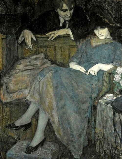 art-is-art-is-art: The Flirtation, Leo Gestel