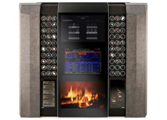 Who doesn't need a 150k watch winder/fire place/tv combo ?